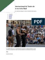 FESTIVAL TEATRO MANIZALES