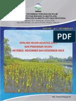 Buletin Hujan Bulanan Bmkg Edisi September 2019
