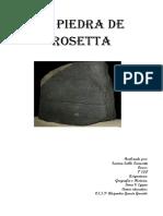 La Piedra Rosetta Samira