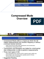 Compressed Mode Overview