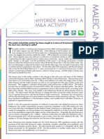 2019 August - Maleic Anhydride Markets a Whirl of M&a Activity