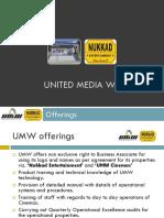 UMW Cinemas Presentation