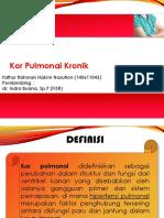 Slide Referat Kor Pulmonal Kronik