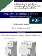 9-Dispositivos de Proteção a Corrente Diferencial Residual (DR)