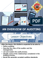 1 - Overview of Auditing