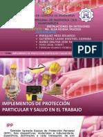 EQUIPOS DE PROTECCIÓN PERSONAL EPP