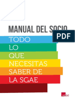 Manual Del Socio SGAE