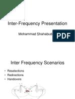 Inter Frequency Presentation
