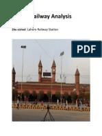 Railway Analysis