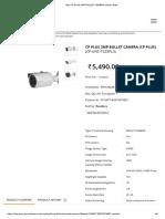 1. Buy Cp Plus 2mp Bullet Camera Online _ Gem