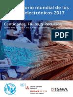 Observatorio Mundial de Desperdicios Electronicos 2019