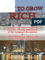 How to Grow Rich (FREE PDF)