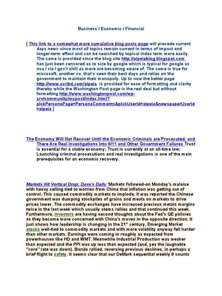 57898c4d8 November 16, 2010 Posts | Economic Bubble | United States Debt Ceiling