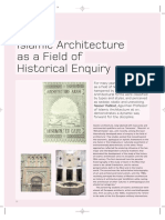Islamic Architecture as a Field of Historical Enquiry.
