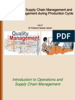 Lec 2, Operational Supply Chain and Quality Management