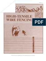 High Tensile Wire Fencing NRAES-11 Fencing