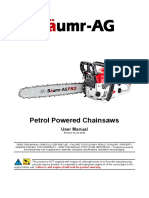 Baumr Ag Chainsaw Manual Sx75