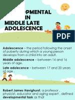 Developmental Stages Pptx