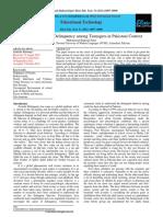 Juvenile Deliquency Research Paper