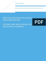 What factors drive successful industrialization_ Evidence and implications for developing countries.pdf