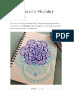 Diferencias Entre Mandala y Zentangle