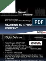 Starting an InfoSec Company