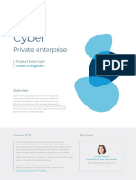 Cyber Private Enterprise Product Brochure Uk