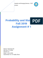Statistics R charts and graphs Assignment