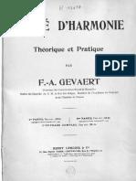 Gevaert, F. - Traité d'harmonie