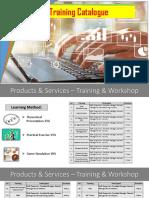 Training Catalogue QBS-1