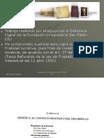 Cap. 4 - Genética, El Contexto Biológico Del Desarrollo(Páginas 97-130)