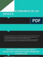 Efectos Secundarios de Los Rayos x 2