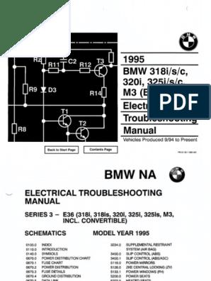 1995 BMW 318i-s-c - 320i - 325i-s-c Electrical Troubleshooting Manual.pdf |  Electrical Connector | Anti Lock Braking SystemScribd
