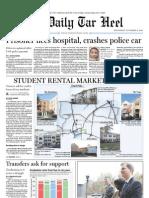 The Daily Tar Heel for November 17, 2010