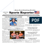 October 9 - 15, 2019  Sports Reporter