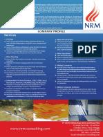 NRM e Brochure