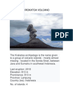 Krokatoa Volcano