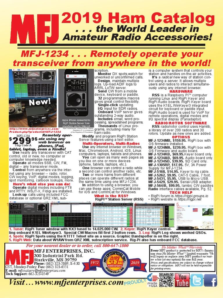 MFJ-1270X KISS Mode TNC-X VHF Packet//APRS