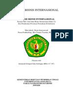 Resume Bab 4 dari buku Bisnis Internasional (Edisi 12) Dan Pemahaman Privatisasi Perusahaan Di Indonesia