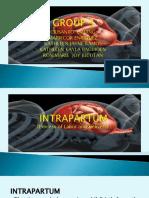 Intrapartum report