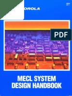 1989 Motorola MECL System Design Handbook 4ed