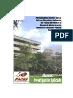 Manual de Faces UC para Procedimientos