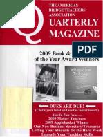 ABTA Quarterly Summer 2009