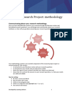Aviation Research Project Methodology 2016