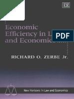 Zerbe, Richard - Economic efficiency in law and economics (1).pdf