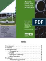 Manual de bolsillo para la instalación de tubos ADS