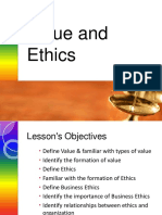 Value and Ethics