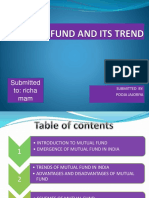 Mutual Fund and Its Trend