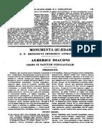 0450-0550, Albericus Diaconus, Sermo in Sanctam Scholaticam, MLT