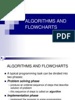 Lecture 4.1 Algorithms and Flowcharts